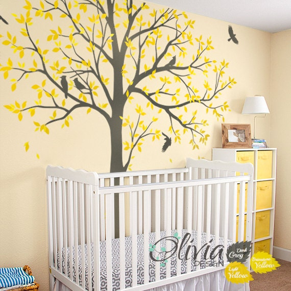 Large Family Tree Wall Decal Huge Tree wall decal Wall Mural