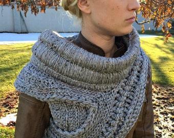 Katniss inspired Cowl - Handmade Crochet