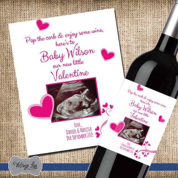 Assez Annonce de la grossesse pour le jour Saint-Valentin Saint EN53