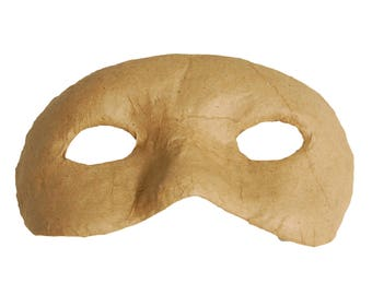 Paper Mache Bandit Mask