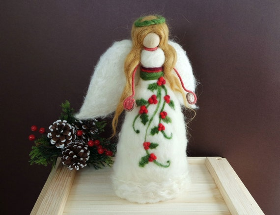 Items Similar To Christmas Angel Tree Topper