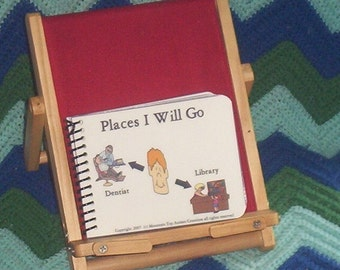 12 PECS Autism Digital Laminated Places I Will Go Mini Book