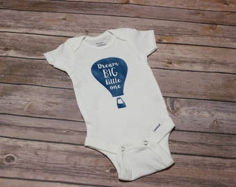 Dream Big Little One Baby Outfit