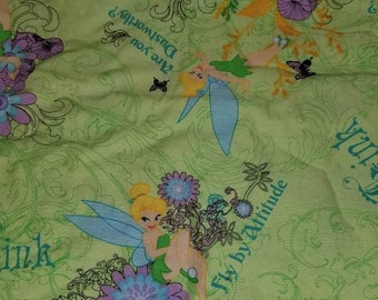 Custom  Tinkerbell Diaper you choose type and size Nb/Sm or Onesize