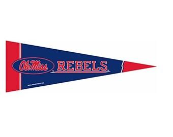 """Ole Miss Rebellen NCAA kleine Wimpel, 5 """"x 15"""" - Universität von Mississippi"""