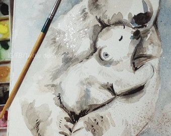 The love of white polar bears.