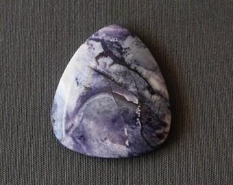 Tiffany Stone Cabochon - Bertrandite - Large Tiffany Stone Cab