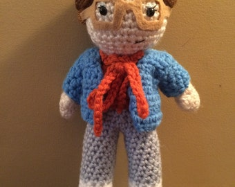 Made to Order Barb Stranger Things inspired Amigurumi doll
