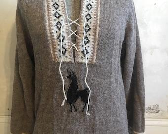 Vintage alpaca sweater