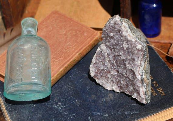 Amethyst Geode 306g, Druzy Amethyst, Raw Amethyst Cluster, Purple Amethyst Geode, Standing Amethyst, Boho, Purple Crystal Cluster, Boho