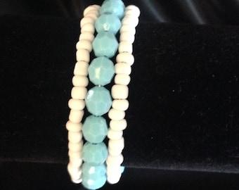 Turquoise Bracelet/ Beach Bracelet/ Summer Bracelet