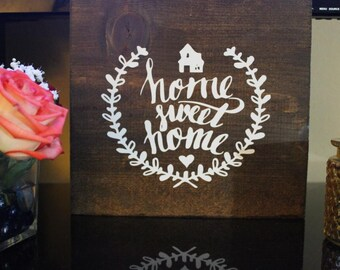 Personalized wooden sign