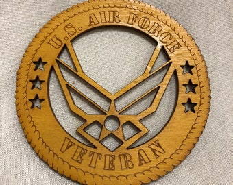 Air Force Wings Veteran Ornament