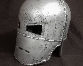 Casco Iron Mark 1, Cosplay LARP 1:1 MB-Industry, Painted - Raw-cast