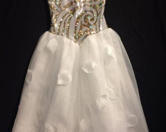 Princess dress, flower girl dress