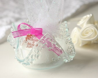 Wedding Favors Glass Votive Holder Candle Candy Dish, GetGlassy