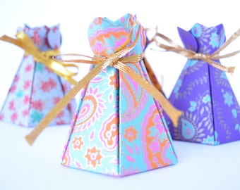Cake box Wedding favor box Indian wedding box Cupcake box