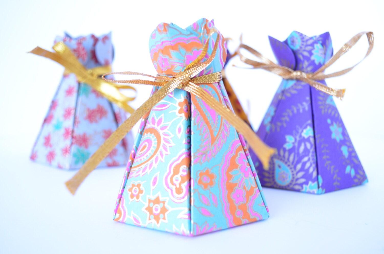 Cake box Wedding favor box Indian wedding box Cupcake box