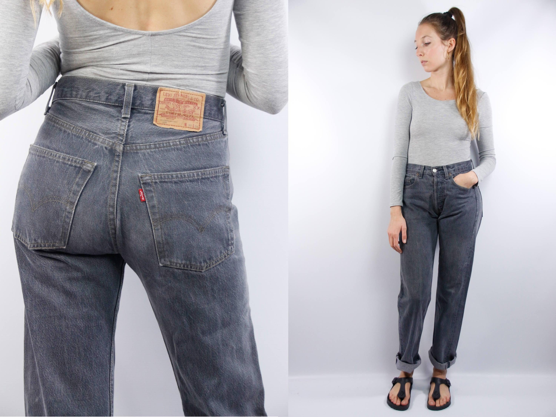 Vintage high waist jeans — img 3