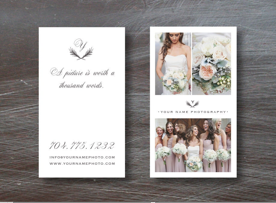 Photography Templates INSTANT DOWNLOAD Vertical Business