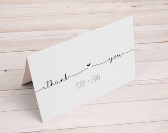 Personalized Thank You Notes With Envelopes (50 Count)