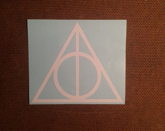 Harry Potter Deathly Hollows - Vinyl Decal Sticker