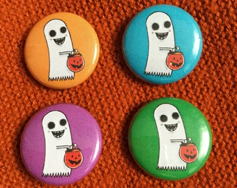 Trick or Treat Ghost - Pin