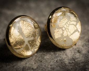 Stud earrings Gold stud earrings post earrings white earrings turquoise earrings black earrings gold post earrings Wedding earrings