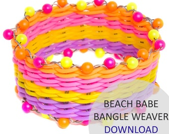Beach Babe Bangle Weaver Project Download