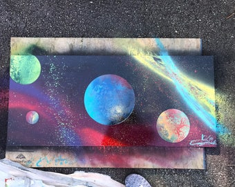 Galaxy/Space Paintings