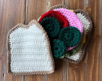 Crochet Sandwich, Food