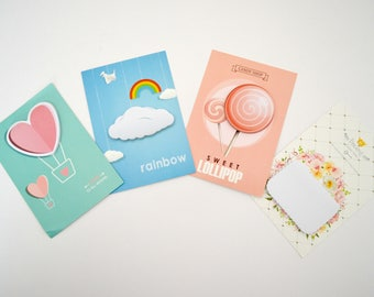 Creative Memo Pad Sticky Notes