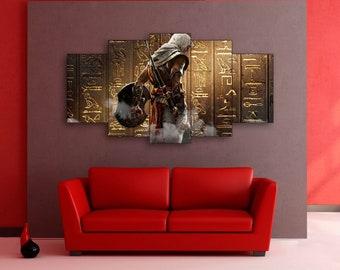 Assassin's Creed Origins, Assassin's Creed wall art, Assassin's Creed canvas, Assassin's Creed print