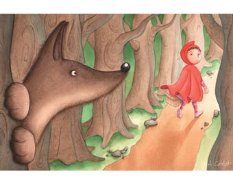Print Little Red Riding Hood
