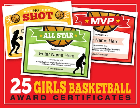 25 girls basketball certificate templates kid certificates 25 girls basketball certificate templates kid certificates child certificate basketball award certificate templates girls basketball yadclub Image collections