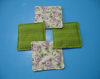 50% OFF Quilted Coasters - Spring WERE 10.00