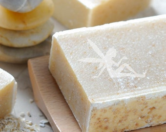 Oatmeal Honey with Goat Milk Natural Handmade Soap Fragrance Free