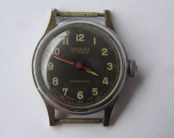VINTAGE WATCH SPERINA 15 jewels Swiss Made