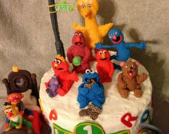 Sesame Street inspired Characters