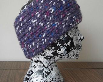 Hand knitted headband - Ear Warmers in Stylecraft Chunky