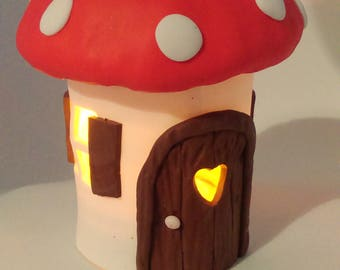 Toadstool House for Fairy Garden