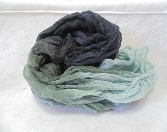 Steely Nights Hand-Dyed Cheesecloth 1yd