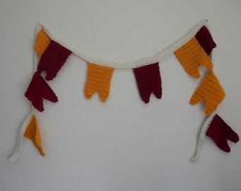 Gryffindor *Inspired* Crochet Pendant Banner