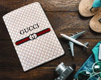 Gucci leather passport Gucci Logo passport cover Passport holder Passport wallet Passport case Gucci Passport leather cover Gucci gift