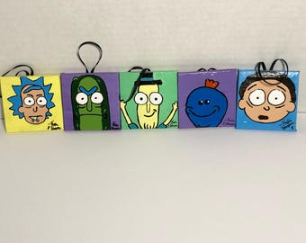 Rick and Morty Ornaments