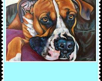 Pet Portraits 12x16 Custom pet portrait painting art