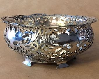 Vintage Centerpiece Bowl by Forbes Silver Company