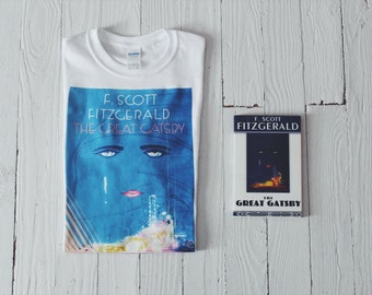 Gatsby Shirt | The Great Gatsby | F Scott Fitzgerald | Book Cover