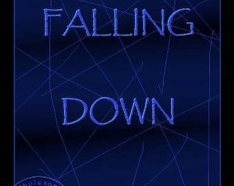 FALLING DOWN; Instant Download -- Digital Art (8x11) .png