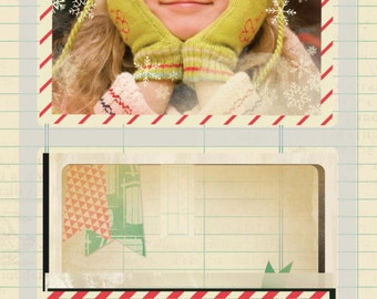 Crate Paper Bundled Up Photo Overlays -- MSRP 5.00